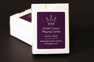 Violet Crown Playing Cards